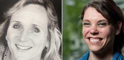 Annemiek Baars en Linda Pasqual-van der Landen
